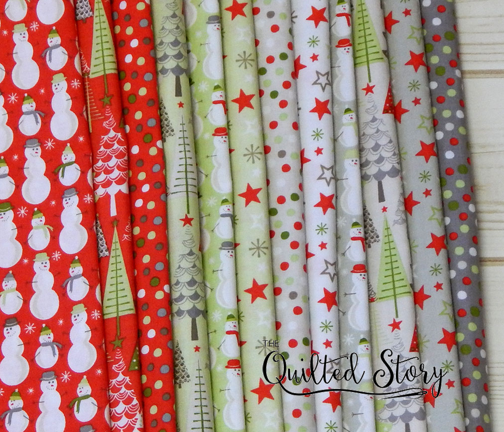 merry little christmas complete fabric line