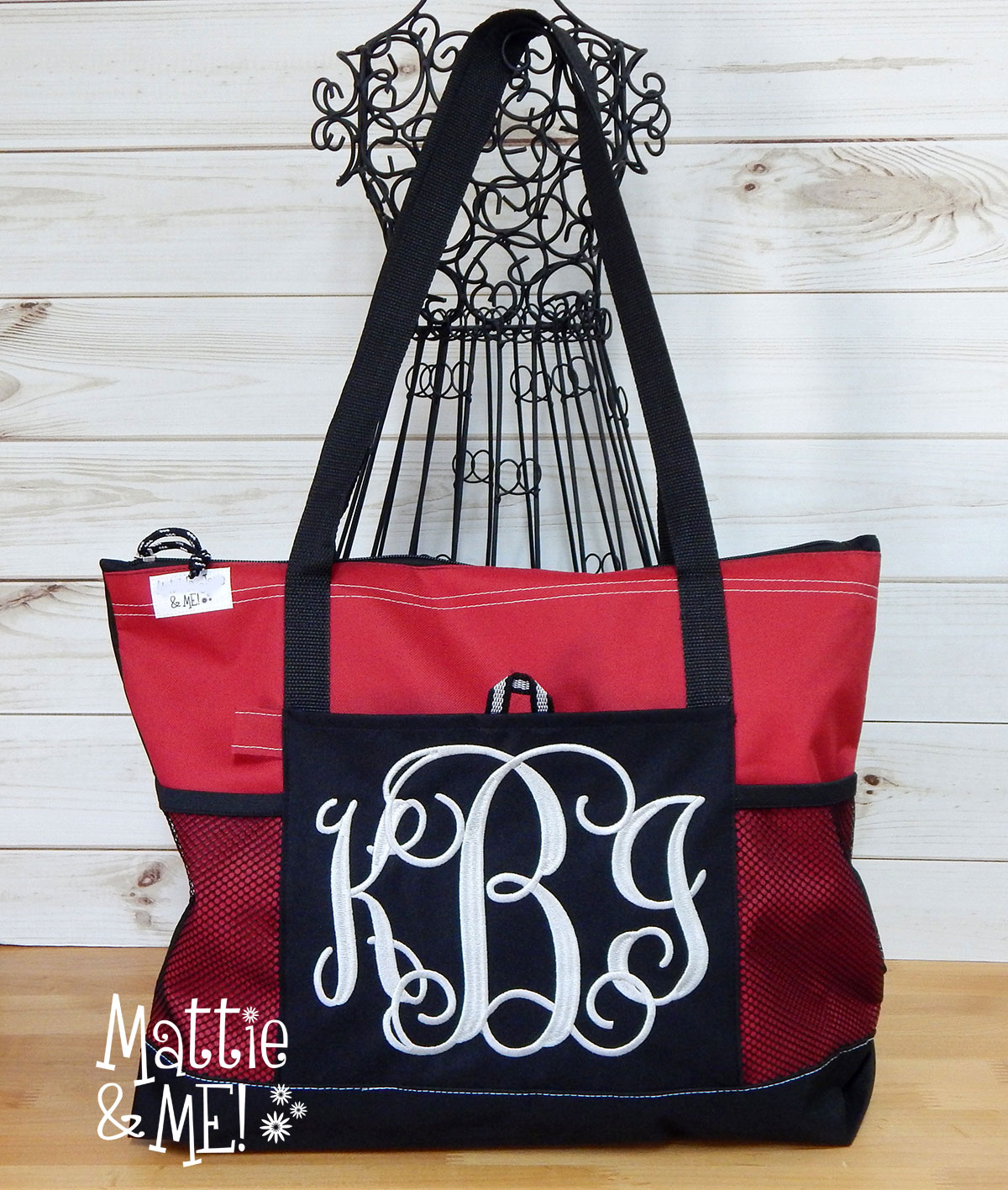 red bag kbi monogram