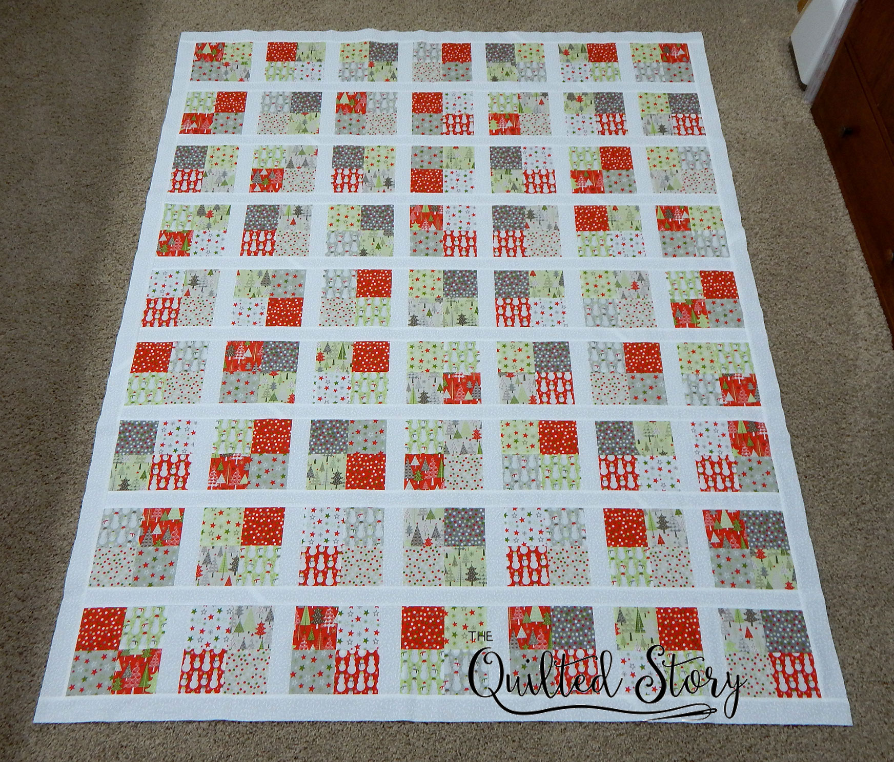 quilt top finished 2